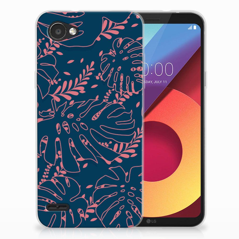 LG Q6 | LG Q6 Plus TPU Hoesje Design Palm Leaves