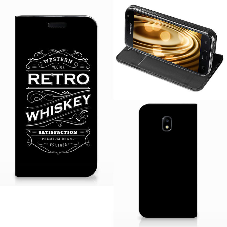 Samsung Galaxy J3 2017 Flip Style Cover Whiskey