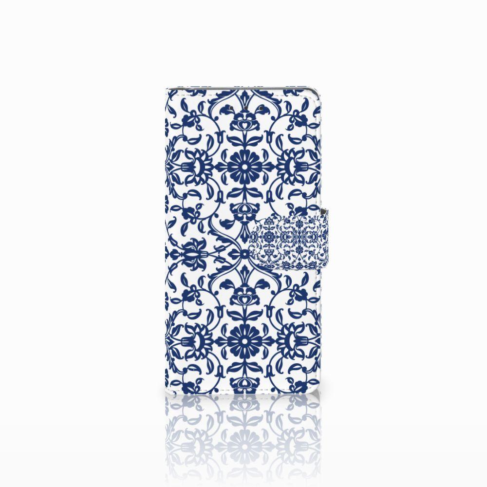 Samsung Galaxy Grand Prime | Grand Prime VE G531F Boekhoesje Flower Blue