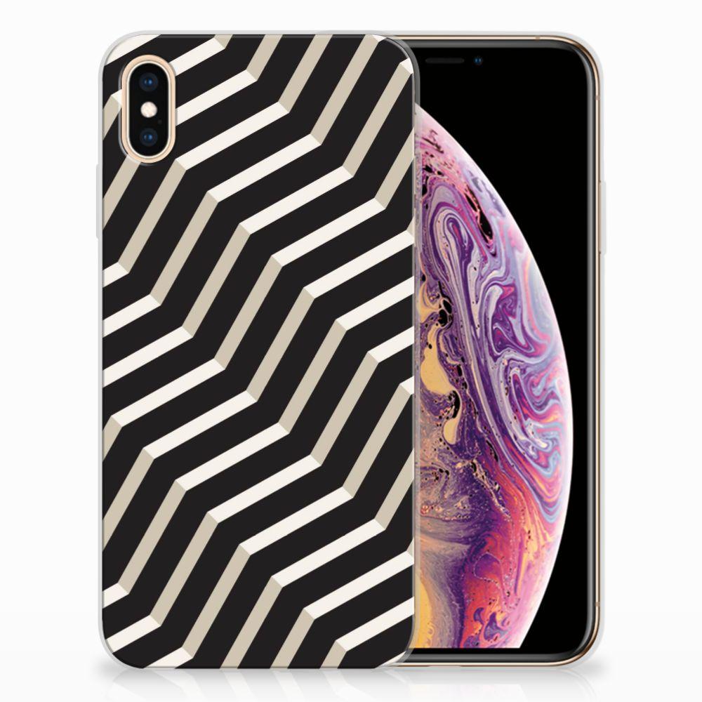 Apple iPhone Xs Max TPU Hoesje Design Illusion