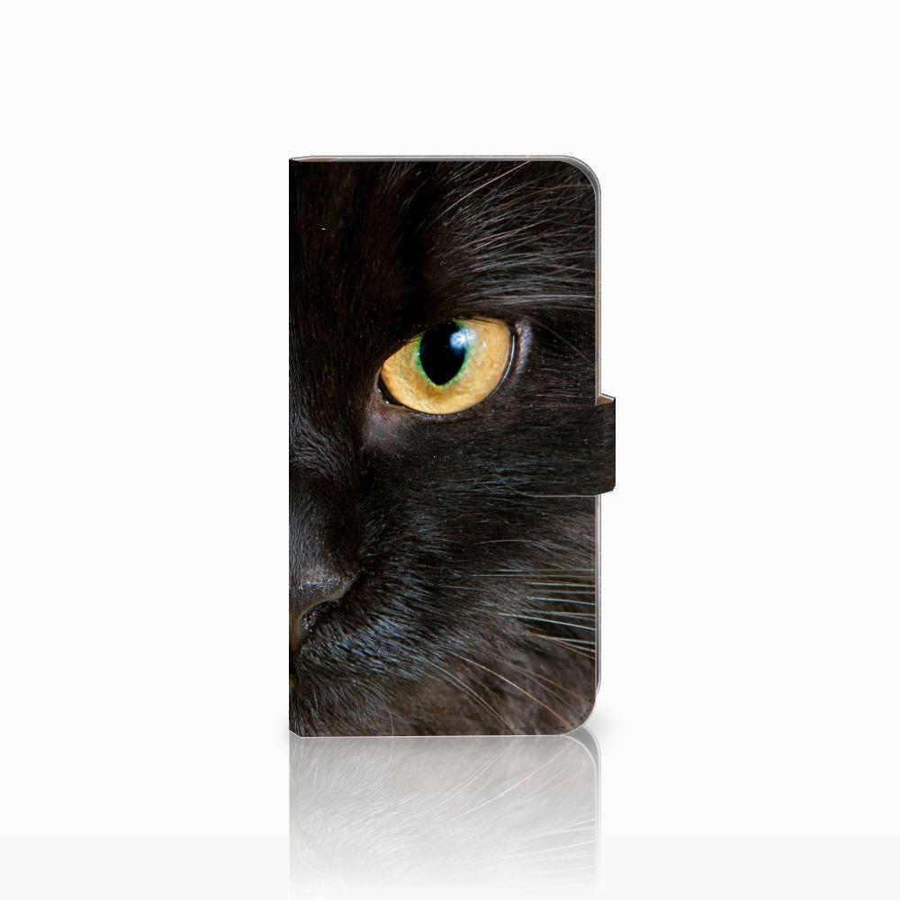 Huawei Mate 9 Uniek Boekhoesje Zwarte Kat