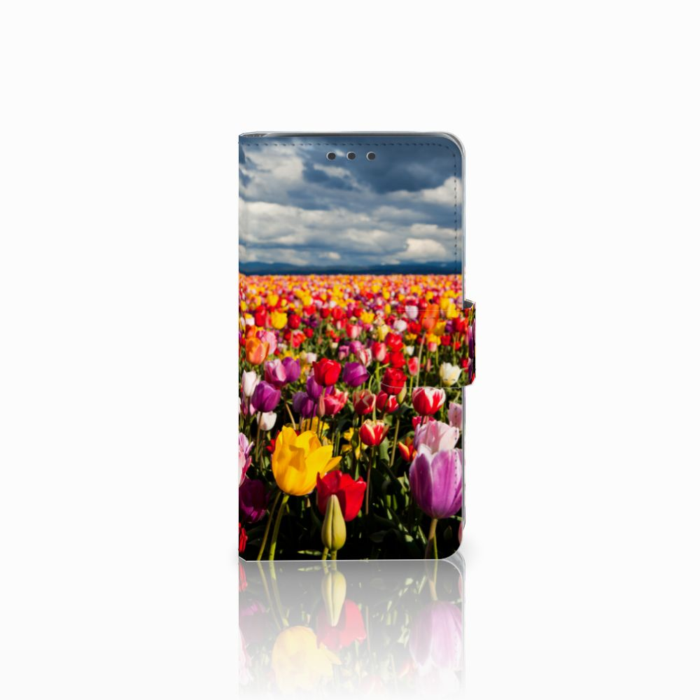 Samsung Galaxy J5 (2015) Uniek Boekhoesje Tulpen