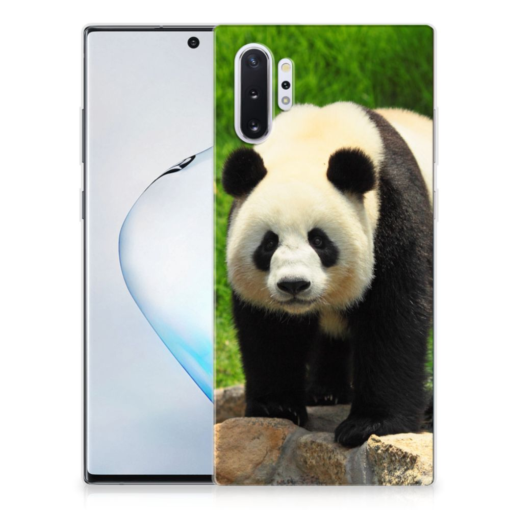 Samsung Galaxy Note 10 Plus TPU Hoesje Panda