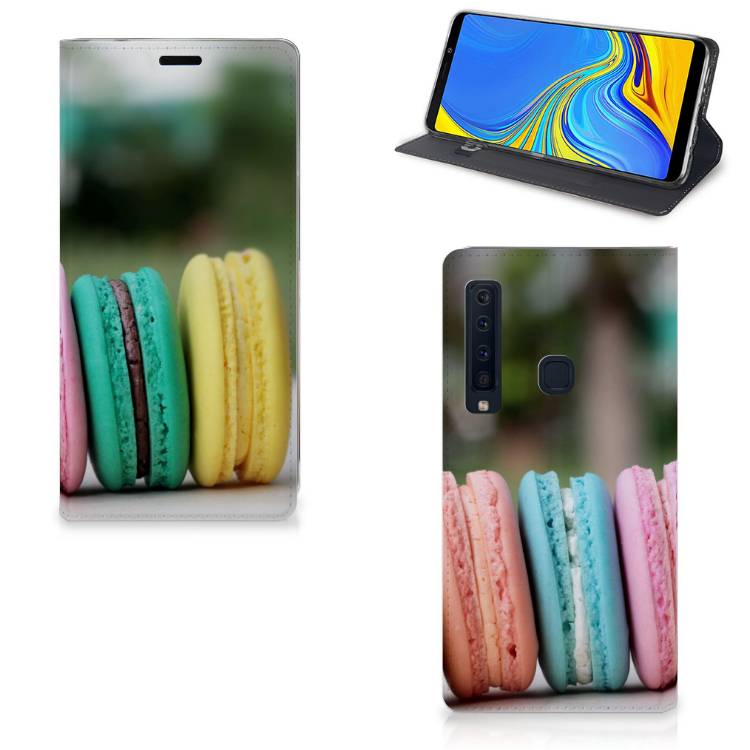 Samsung Galaxy A9 (2018) Flip Style Cover Macarons