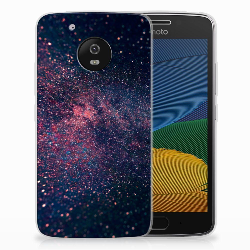 Motorola Moto G5 TPU Hoesje Stars