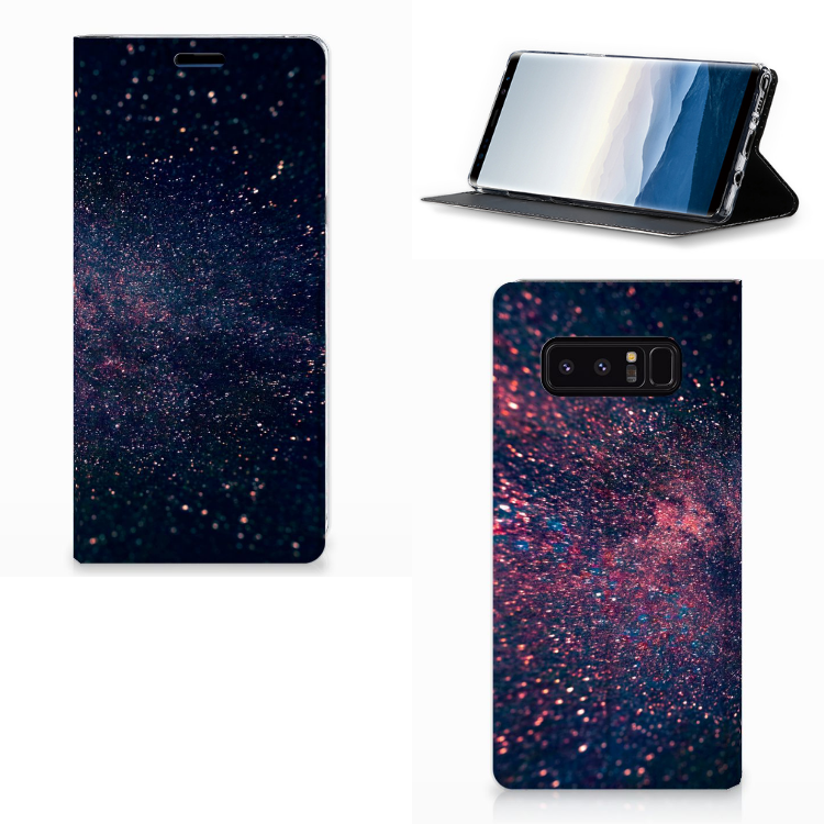 Samsung Galaxy Note 8 Stand Case Stars