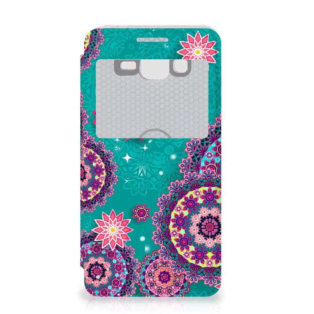 Samsung Galaxy Grand Prime Hoesje Cirkels en Vlinders
