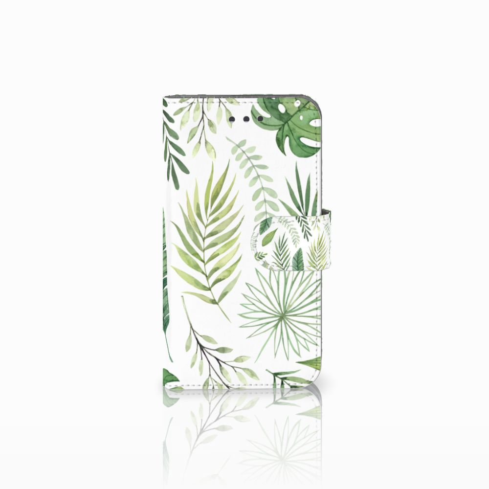 Samsung Galaxy Xcover 3 | Xcover 3 VE Uniek Boekhoesje Leaves