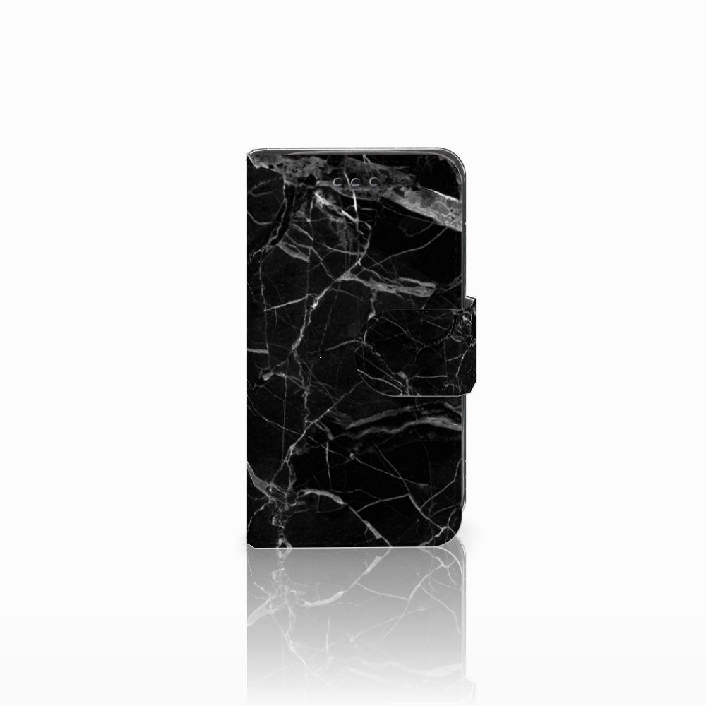 Samsung Galaxy Trend 2 Boekhoesje Marmer Zwart