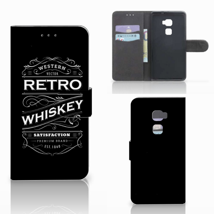 Huawei Mate S Book Cover Whiskey