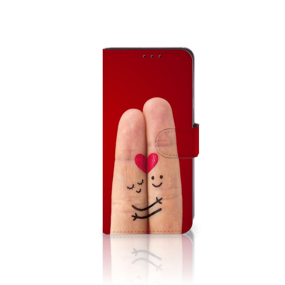 Huawei Mate 20 Lite Uniek Boekhoesje Liefde