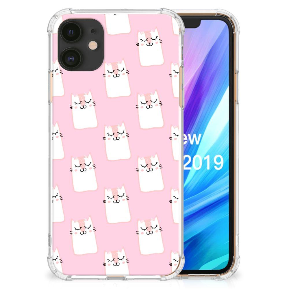 Apple iPhone 11 Case Anti-shock Sleeping Cats