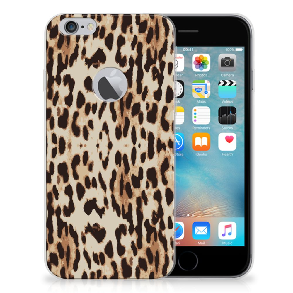 Apple iPhone 6 Plus | 6s Plus Uniek TPU Hoesje Leopard