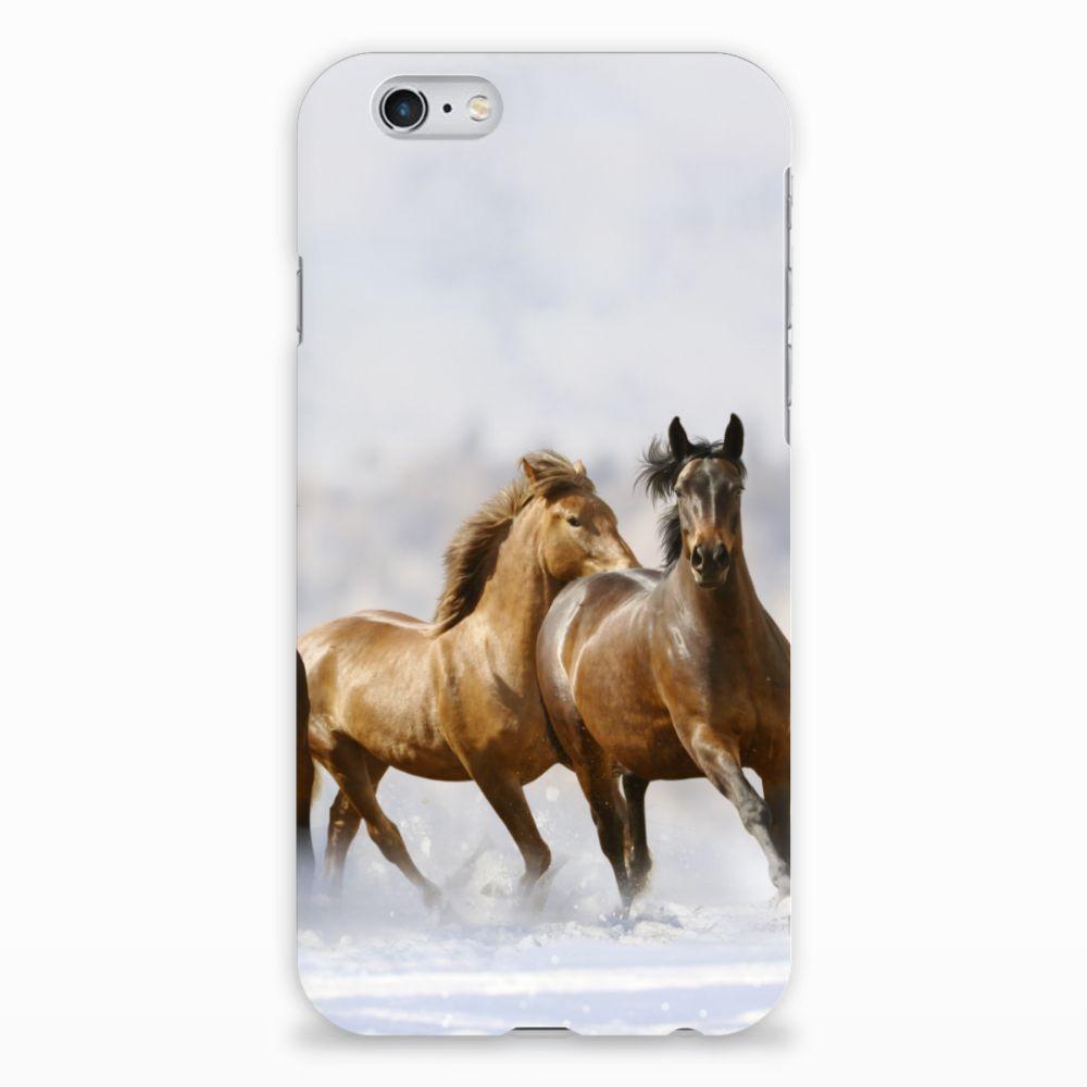 Apple iPhone 6 | 6s Uniek Hardcase Hoesje Paarden