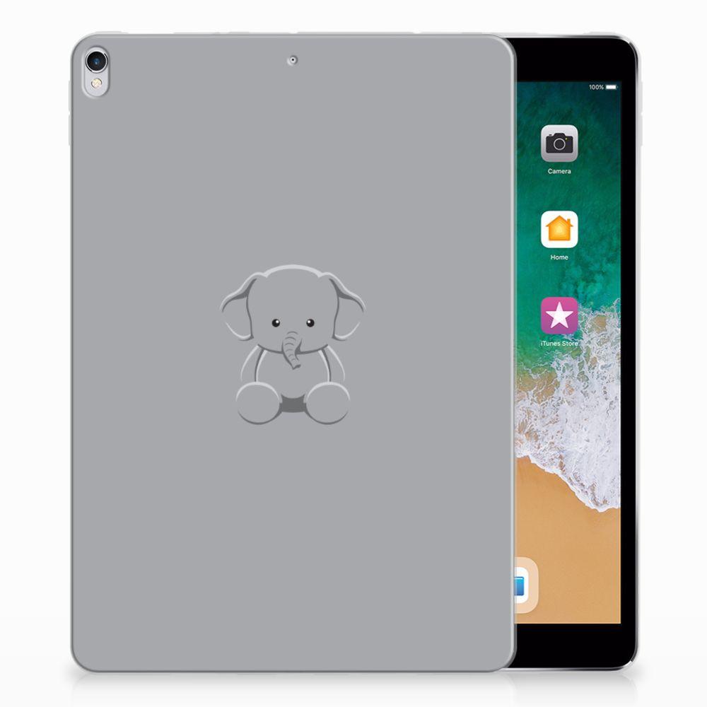 Apple iPad Pro 10.5 Uniek Tablethoesje Baby Olifant