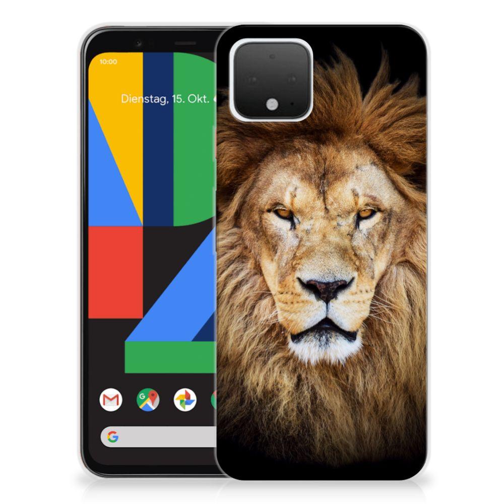 Google Pixel 4 TPU Hoesje Leeuw