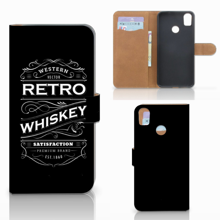 HTC Desire 10 Pro Book Cover Whiskey