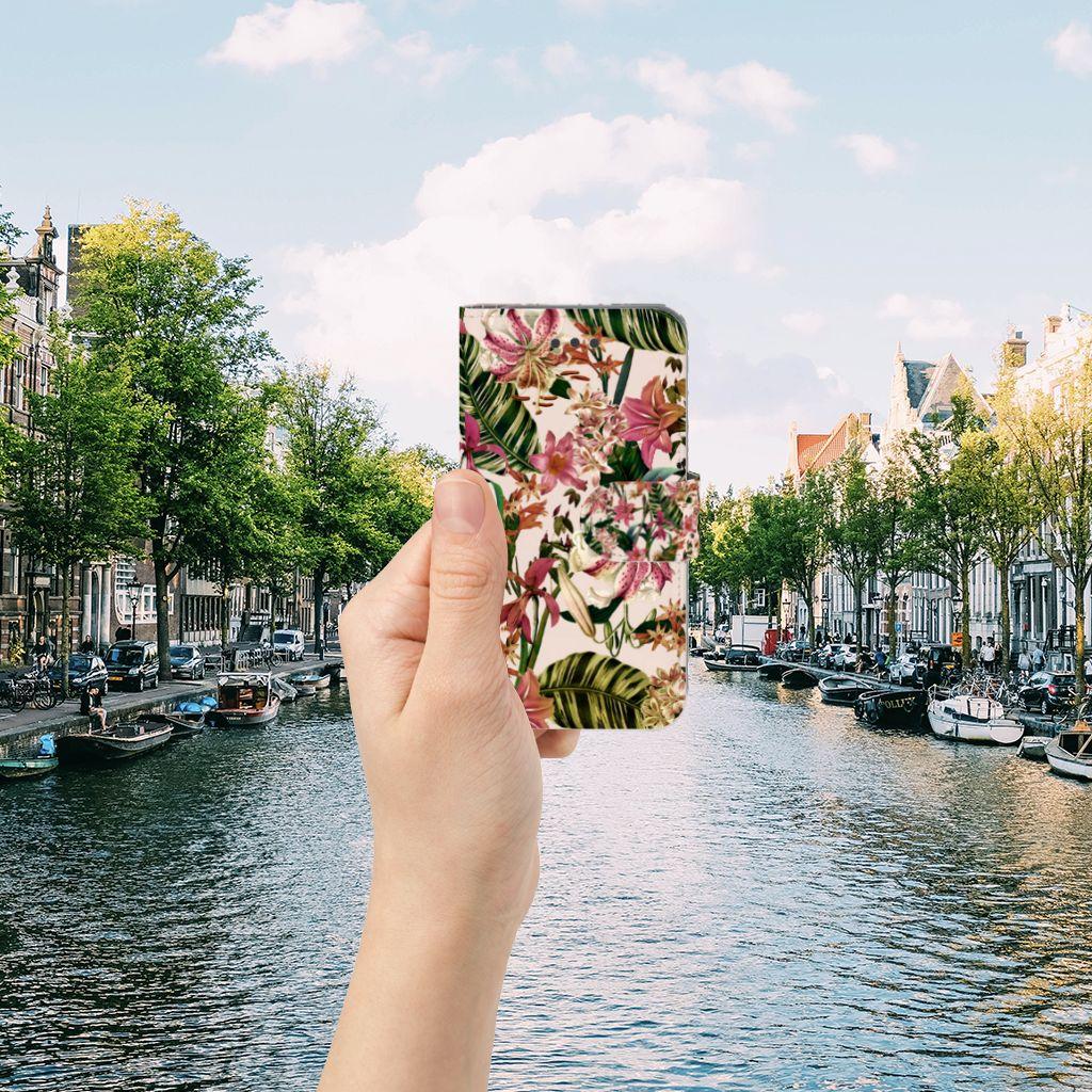 Apple iPhone 6 | 6s Uniek Boekhoesje Flowers