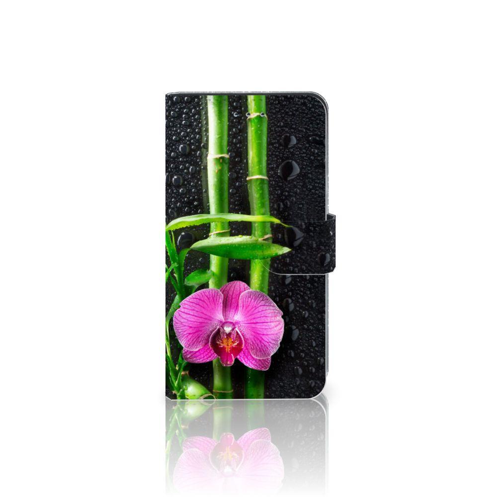 Samsung Galaxy J4 2018 Boekhoesje Design Orchidee