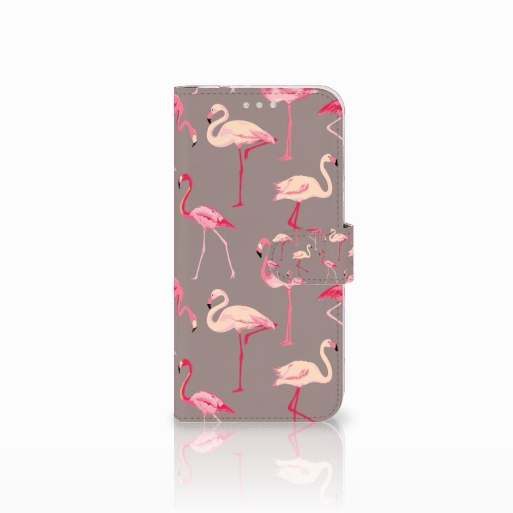 Huawei P20 Pro Uniek Boekhoesje Flamingo