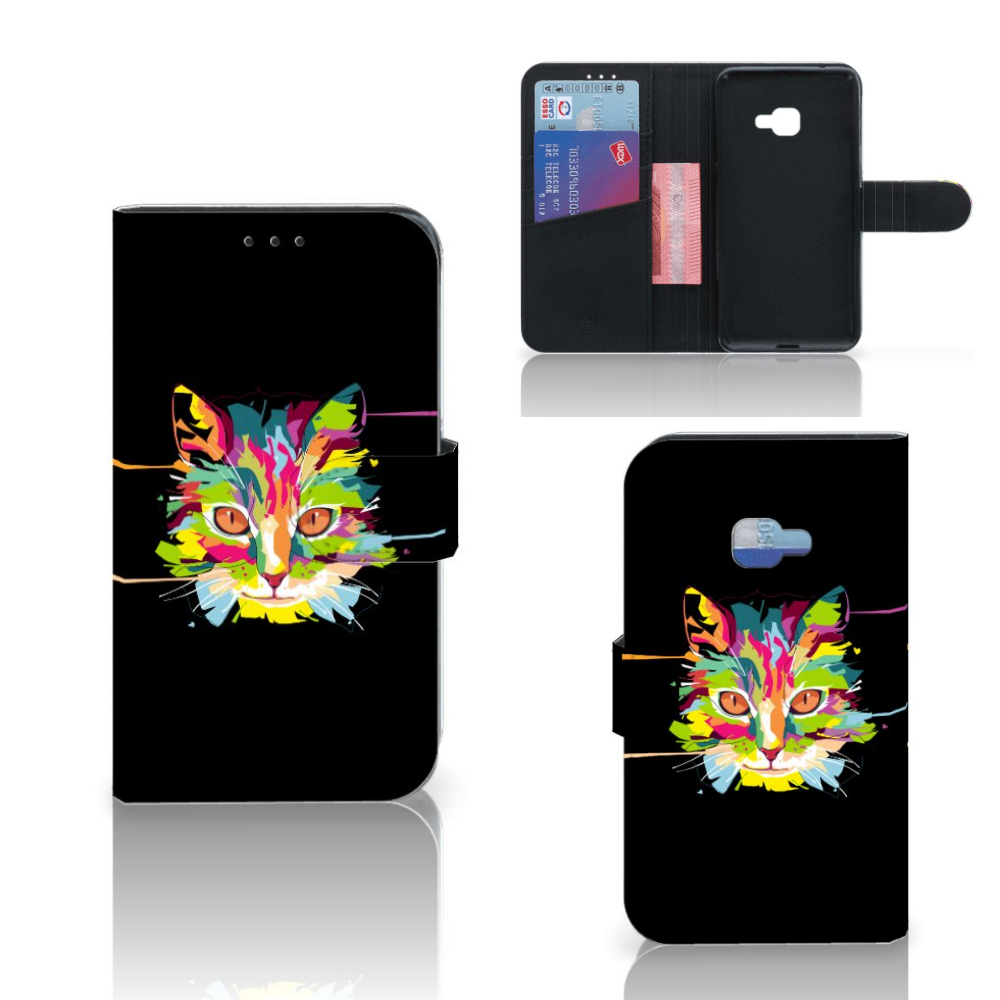 Samsung Galaxy Xcover 4 | Xcover 4s Leuk Hoesje Cat Color