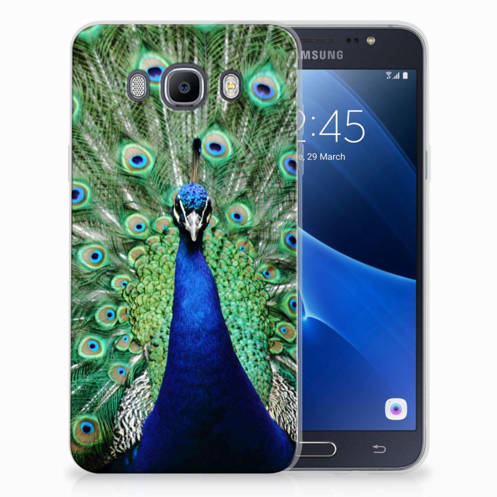 Samsung Galaxy J7 2016 TPU Hoesje Pauw