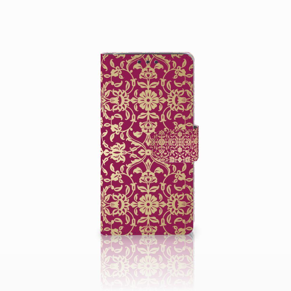 HTC Desire 626 | Desire 626s Boekhoesje Design Barok Pink