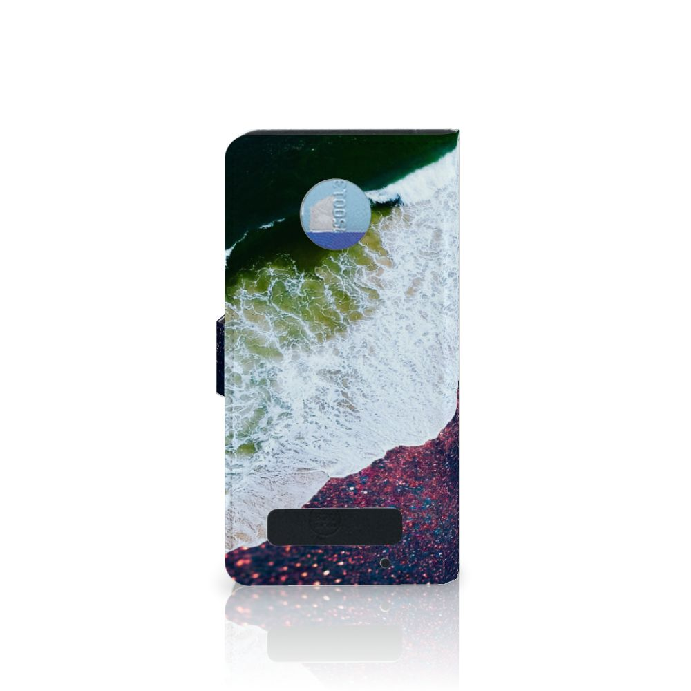 Motorola Moto Z Play Bookcase Sea in Space