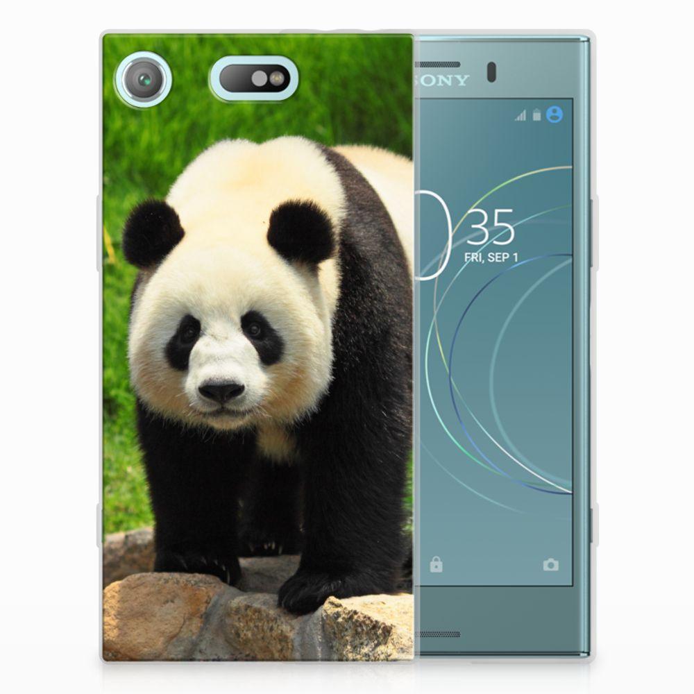 Sony Xperia XZ1 Compact TPU Hoesje Design Panda