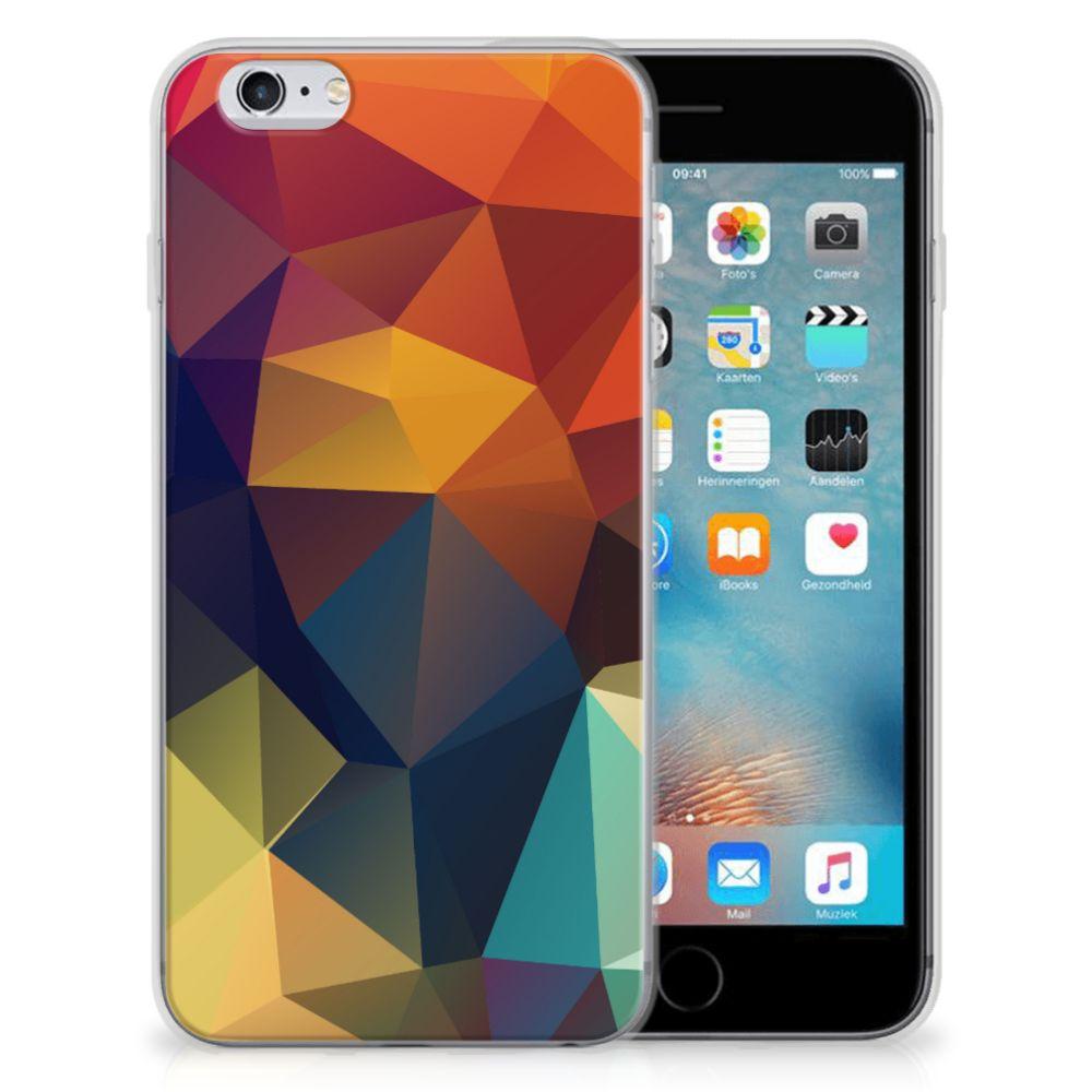 Apple iPhone 6 | 6s TPU Hoesje Polygon Color