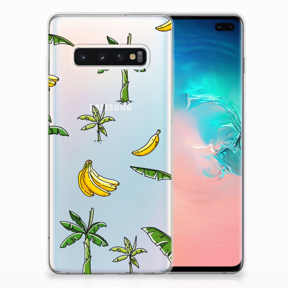 Samsung Galaxy S10 Plus TPU Case Banana Tree