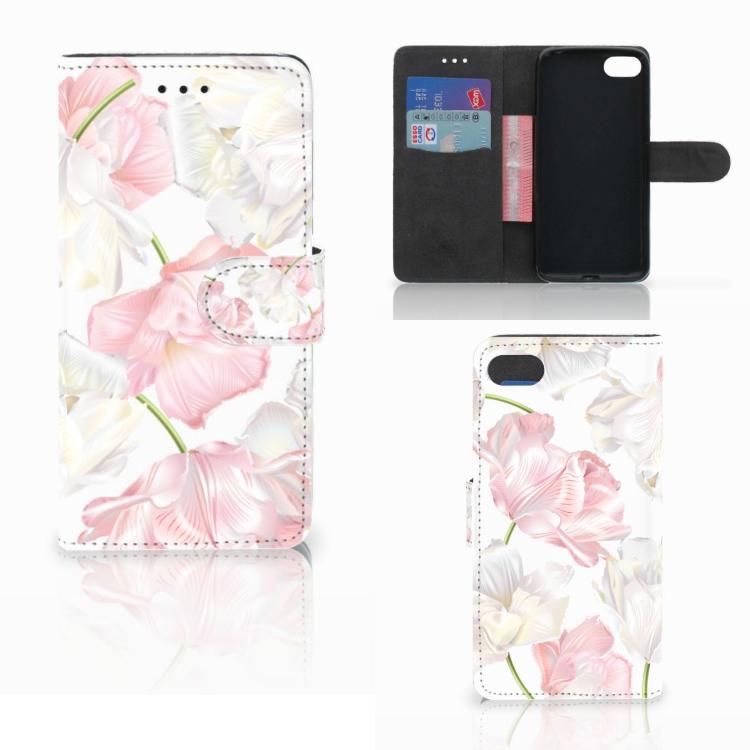 Huawei Y5 2018 Hoesje Lovely Flowers