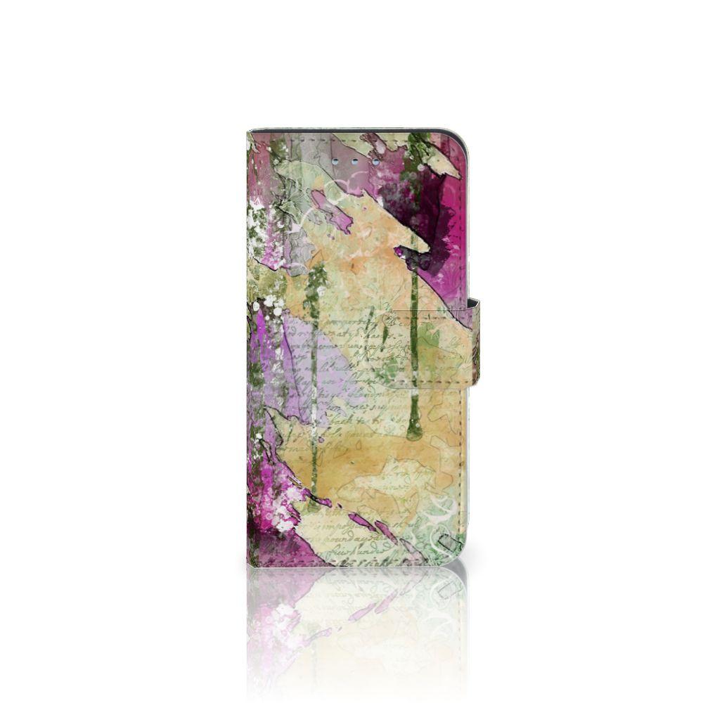 Samsung Galaxy S6 | S6 Duos Uniek Boekhoesje Letter Painting