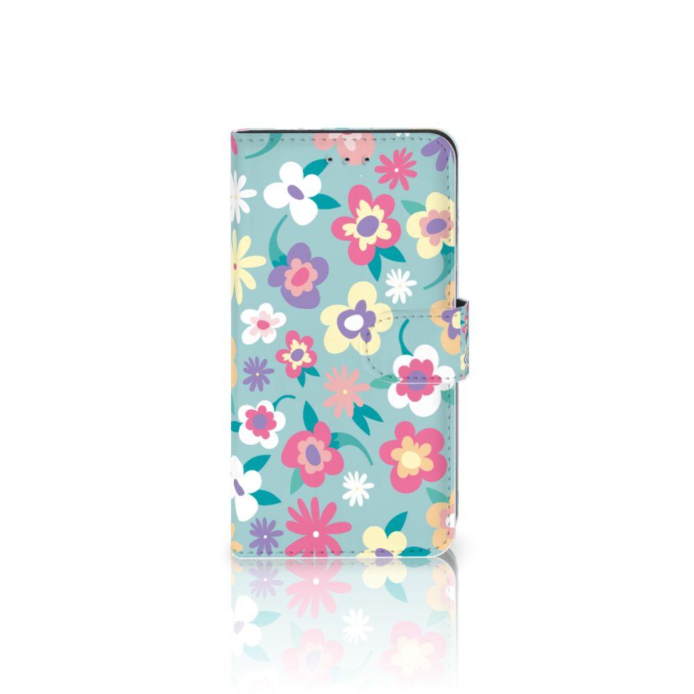 Samsung Galaxy J4 2018 Boekhoesje Design Flower Power