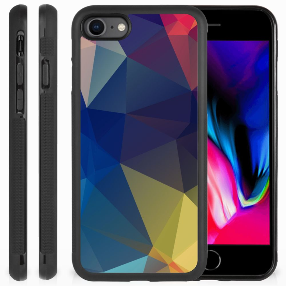 Apple iPhone 7 | 8 Grip Case Polygon Dark