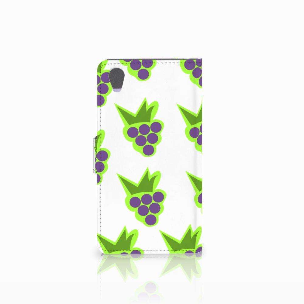 Sony Xperia Z1 Book Cover Druiven