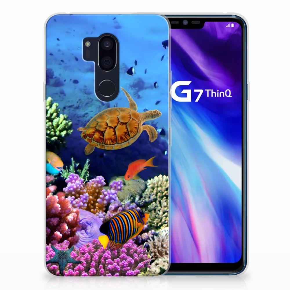 LG G7 Thinq TPU Hoesje Vissen