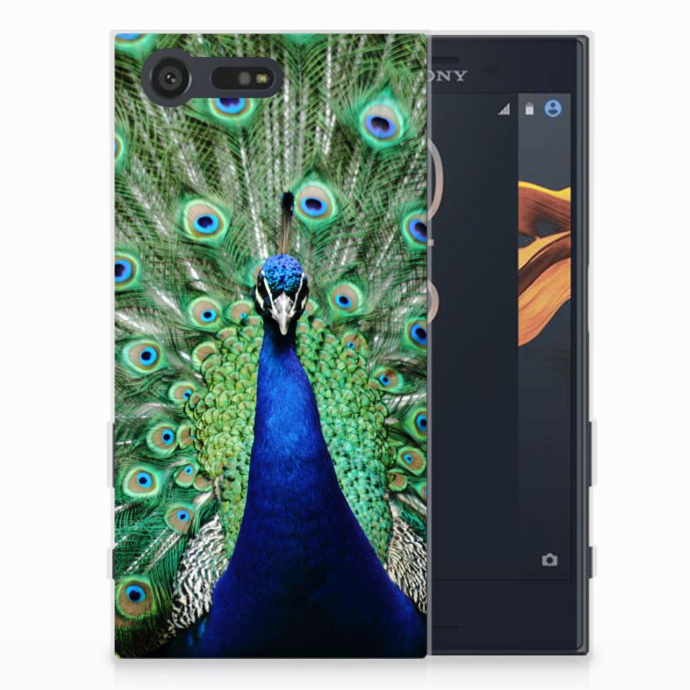 Sony Xperia X Compact TPU Hoesje Pauw