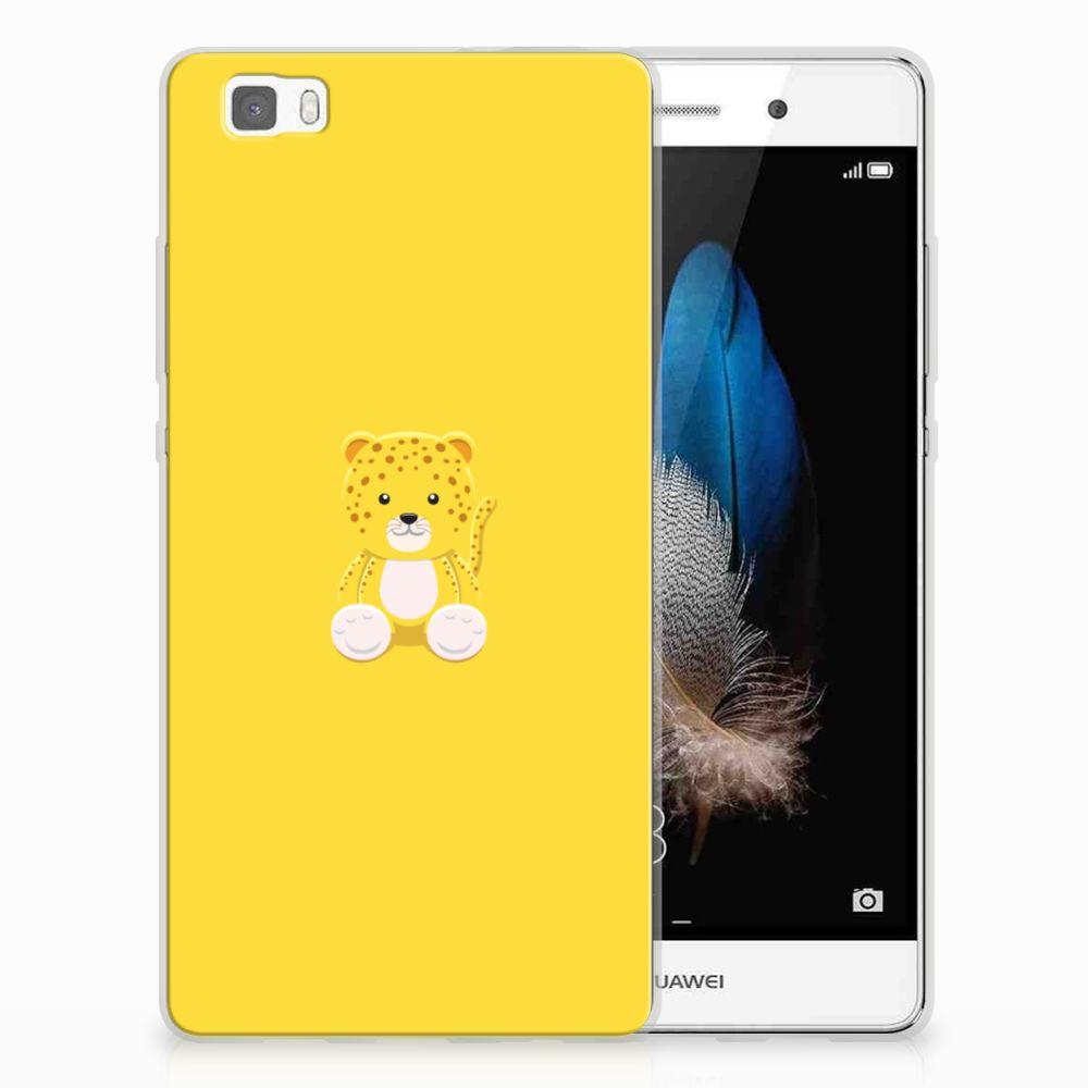 Huawei Ascend P8 Lite Uniek TPU Hoesje Baby Lepperd