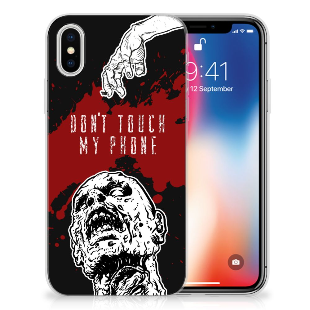 Apple iPhone X | Xs TPU Hoesje Design Zombie Blood