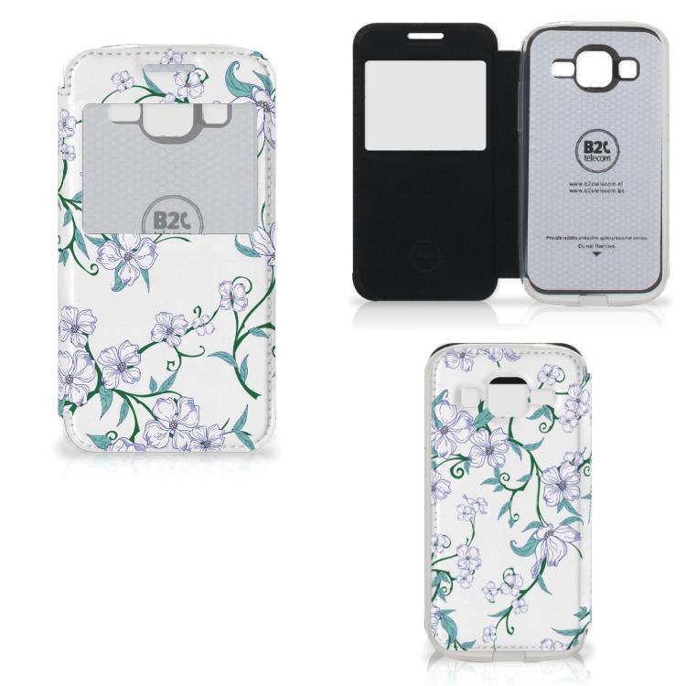 Samsung Galaxy Core Prime Uniek Hoesje Blossom White