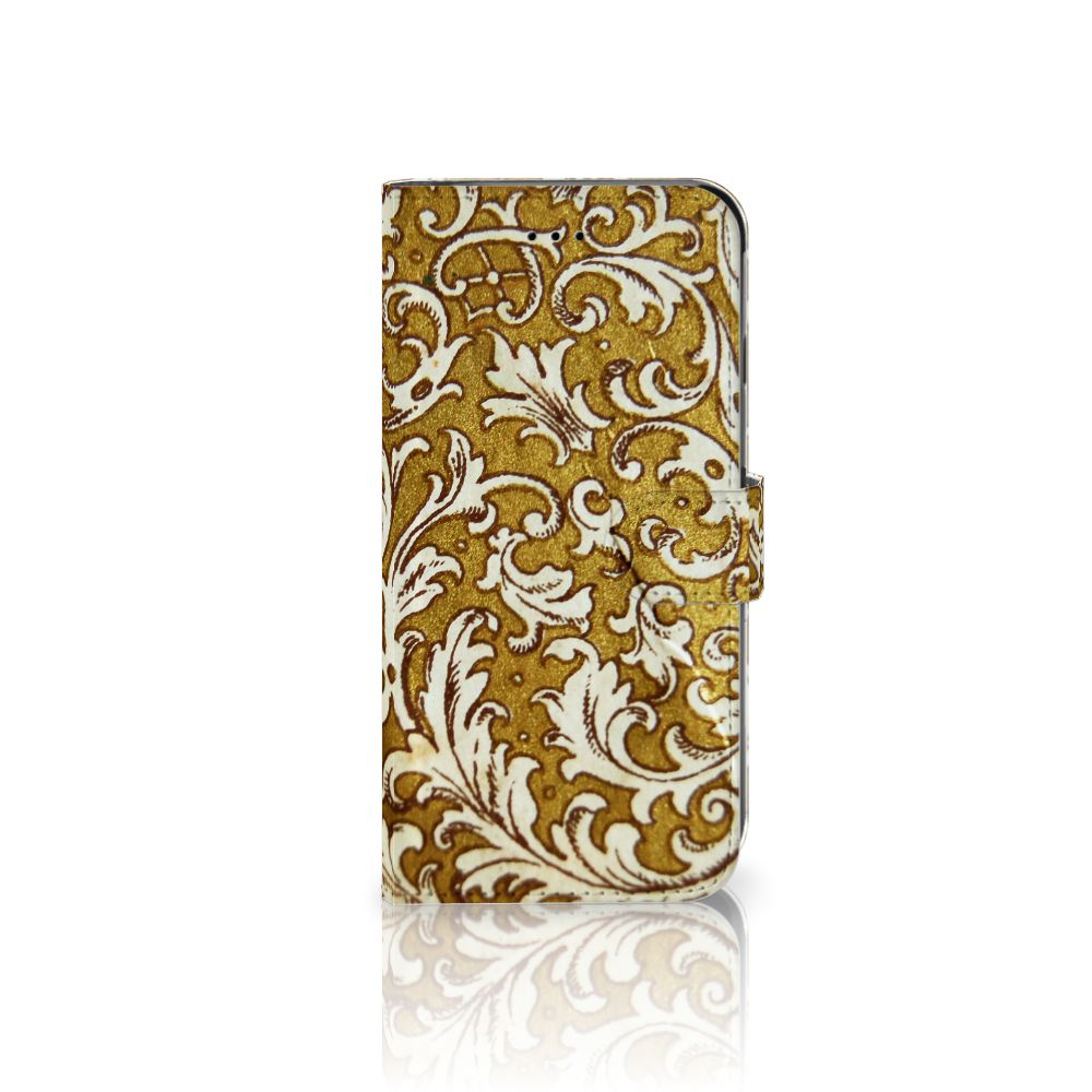 Apple iPhone 6 Plus | 6s Plus Boekhoesje Design Barok Goud