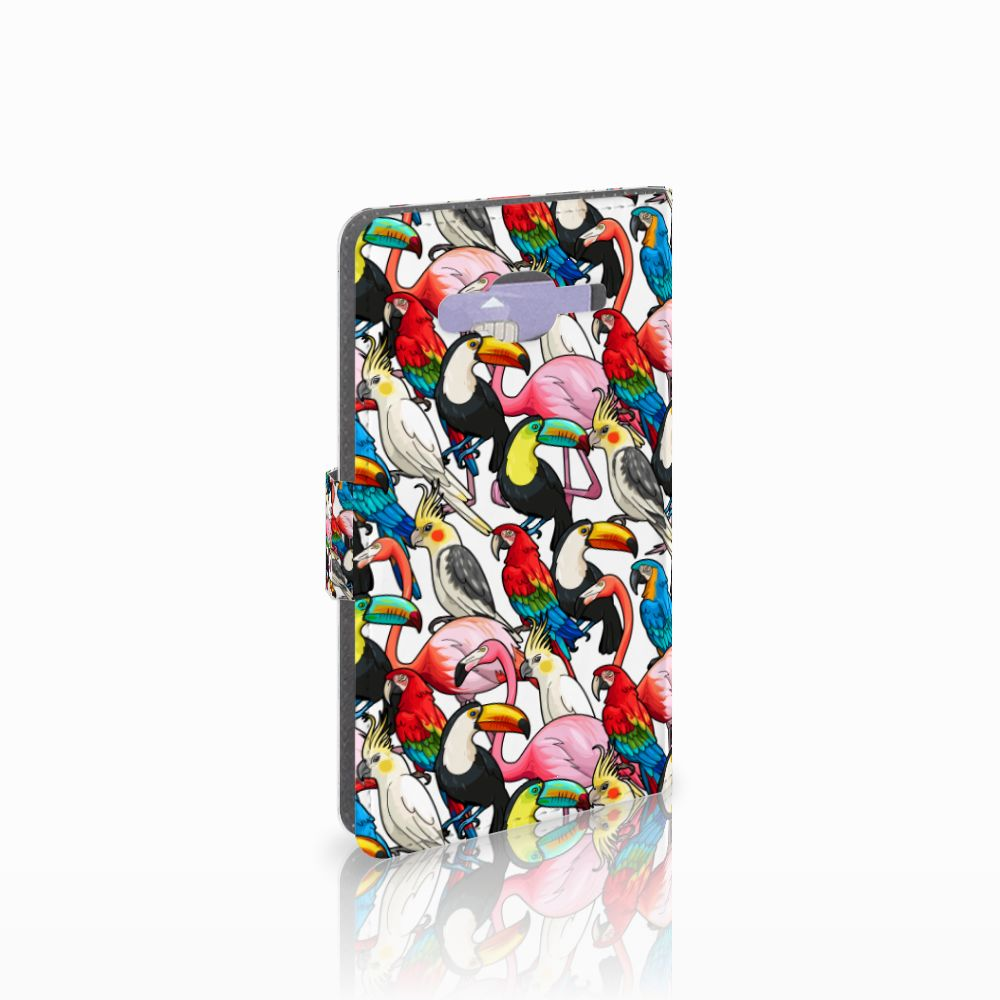 Samsung Galaxy J5 (2015) Uniek Boekhoesje Birds