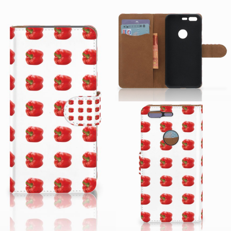 Google Pixel Book Cover Paprika Red