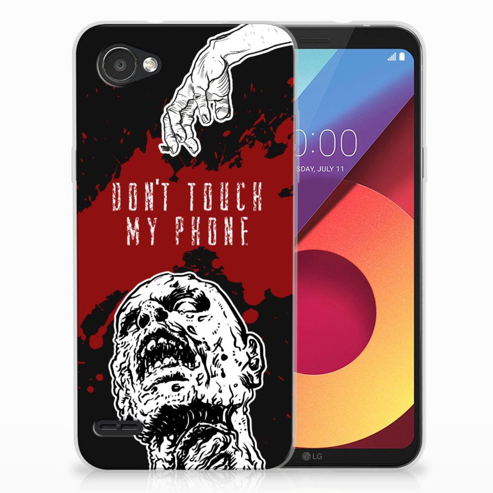 LG Q6 | LG Q6 Plus TPU Hoesje Design Zombie Blood