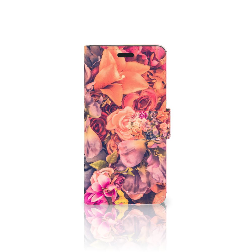 HTC 10 Boekhoesje Design Bosje Bloemen