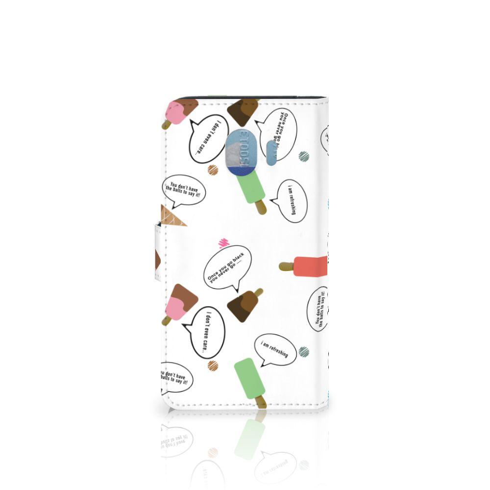 Samsung Galaxy J4 2018 Book Cover IJsjes