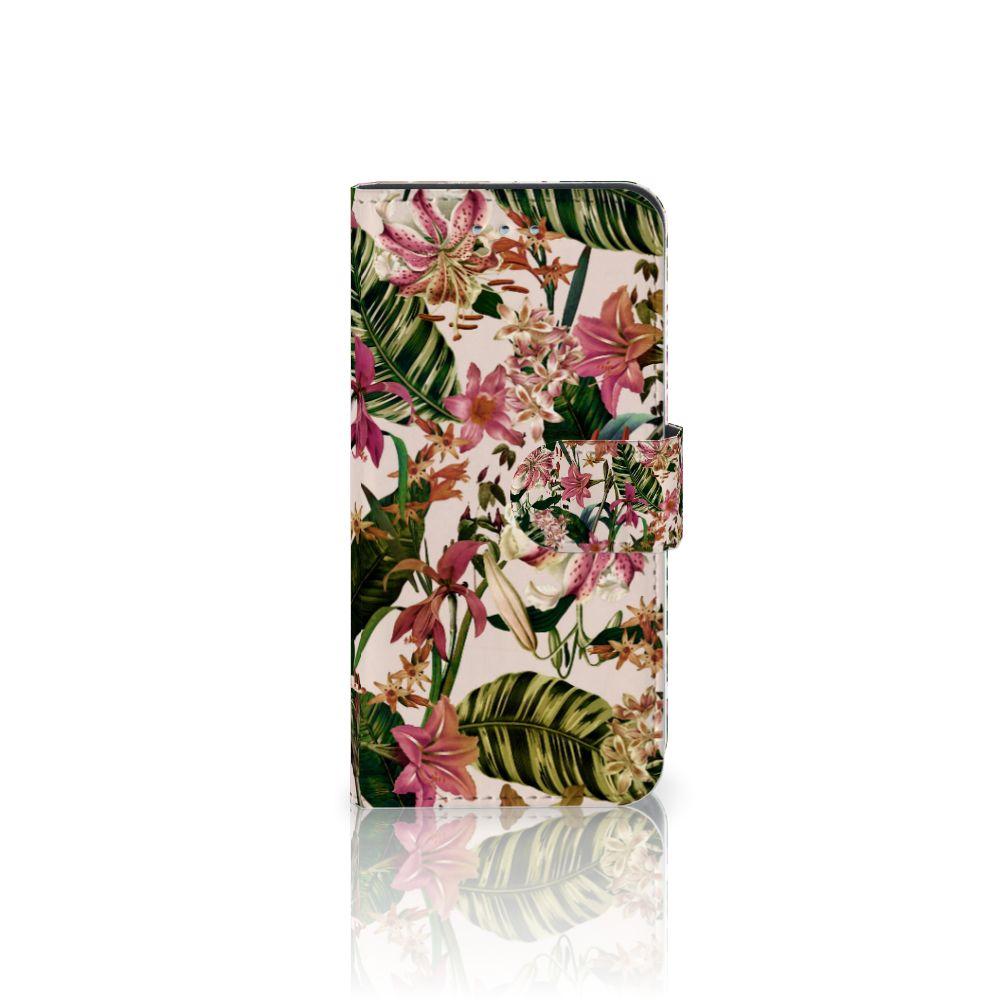 Samsung Galaxy S6 | S6 Duos Uniek Boekhoesje Flowers