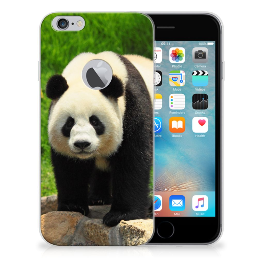 Apple iPhone 6 Plus | 6s Plus TPU Hoesje Panda