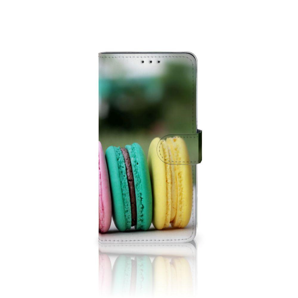 Samsung Galaxy A8 Plus (2018) Boekhoesje Design Macarons
